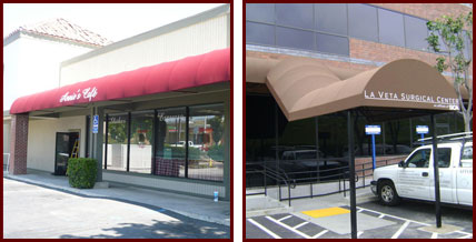 Business Storefront Awnings Custom Graphics And Logos