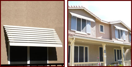 Custom Aluminum Awnings For Patios Windows Amp Balconies