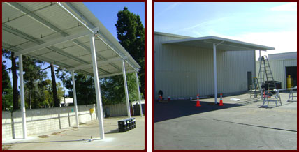 Parking Patio Covers