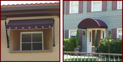 Fixed Frame Awnings ...