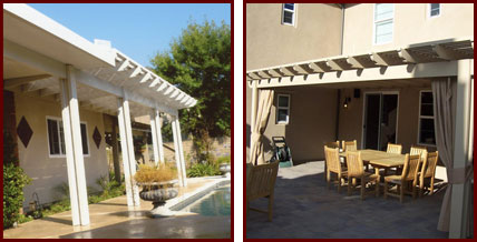 DIY Patio Covers Southern California Traditional Wooden ...