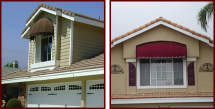 Window Awnings Southern California Exterior Installation