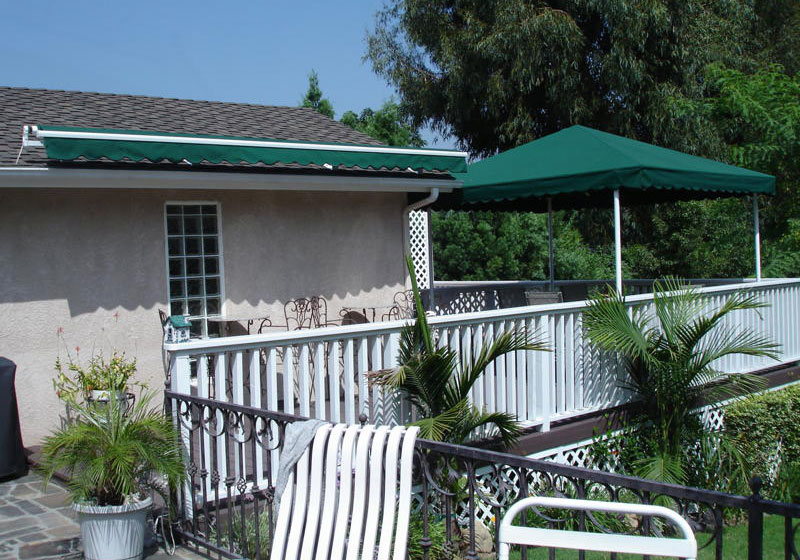 Affordable Awnings Gallery - Retractable Fabric Awnings ...