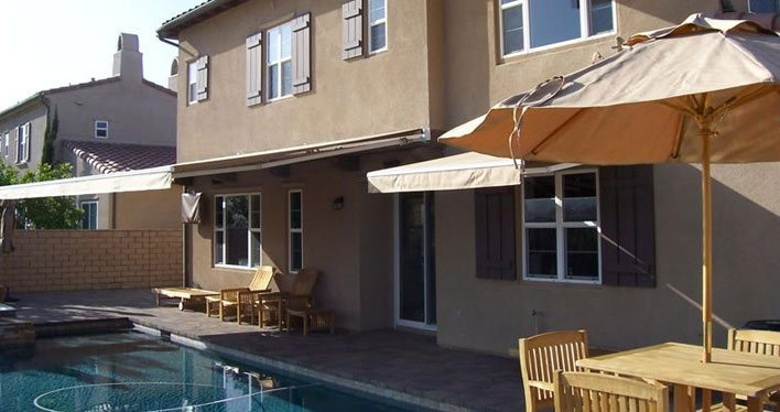 Perfect Retractable Awnings Retractable Awnings Southern California ...