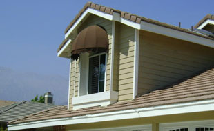 Fade, Mildew Resistant Window Awnings