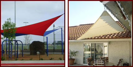 ... DIY Sail Shade & Custom Tension Fabric Sail Shades and Sun Shade Sails Riverside San ...